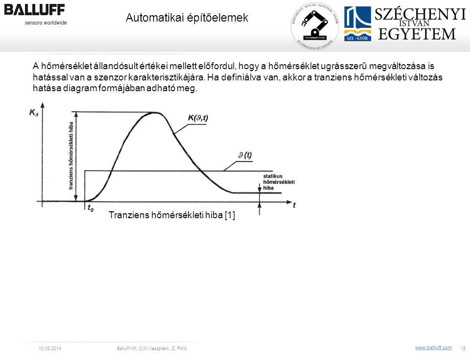 Tranziens hőmérsékleti hiba [1]